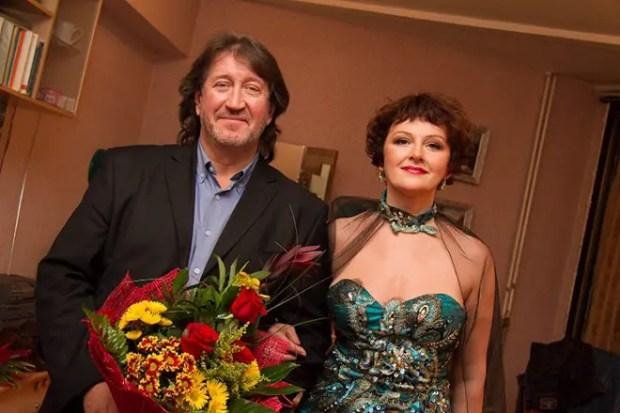 Олег Митяев с женой