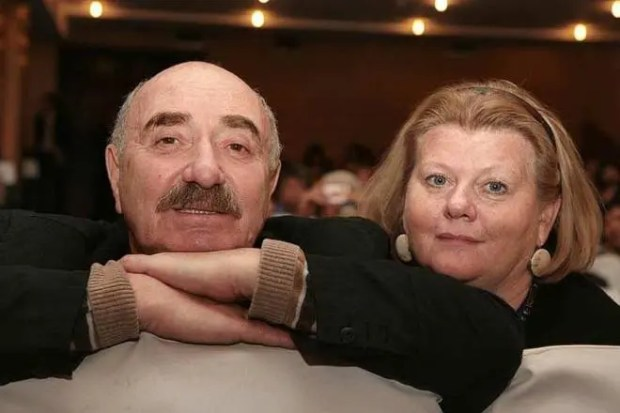Ирина Муравьева с мужем