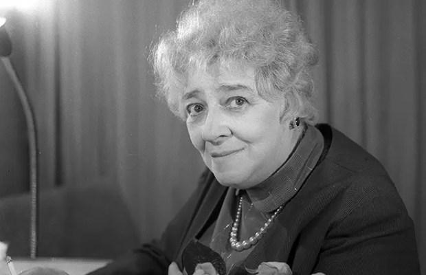 Актриса Фаина Раневская
