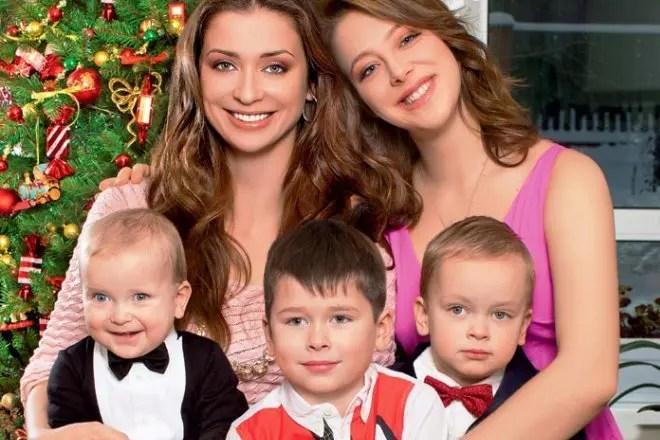 Картинки по запросу фото мария ситтель с детьми