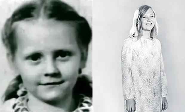 Светлана Крючкова в детстве и юности