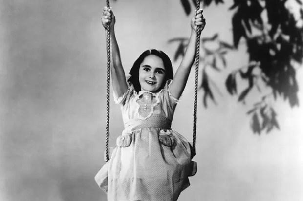 Элизабет Тейлор в детстве