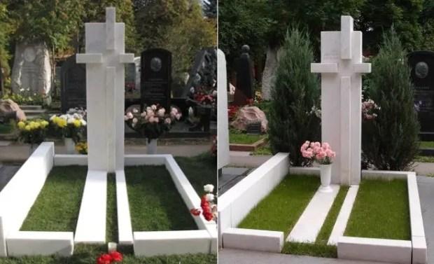 Могила Олега Янковского