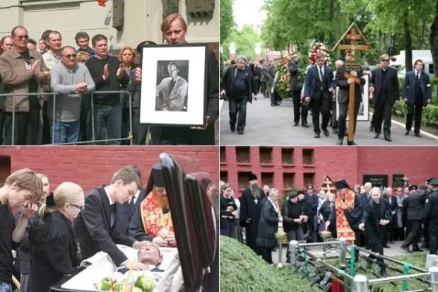 Похороны Олега Янковского