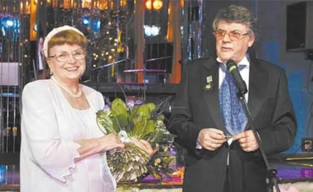 Александр Ширвиндт с женой