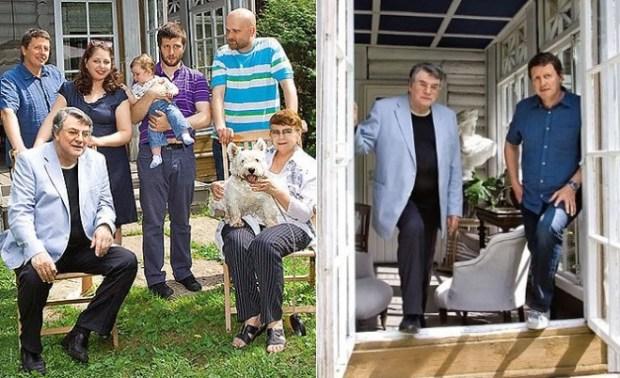 Александр Ширвиндт с семьей