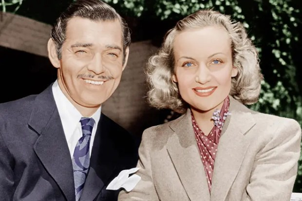 Кларк Гейбл с любимой женой Кэрол Ломбард