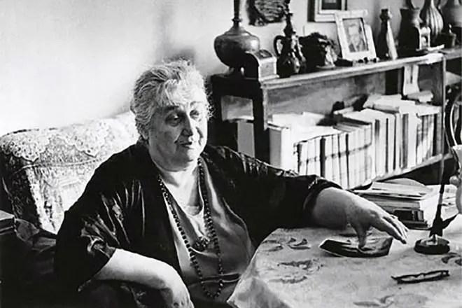 Анна Ахматова в старости