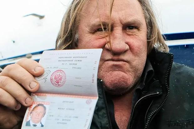Жерар Депардье в России