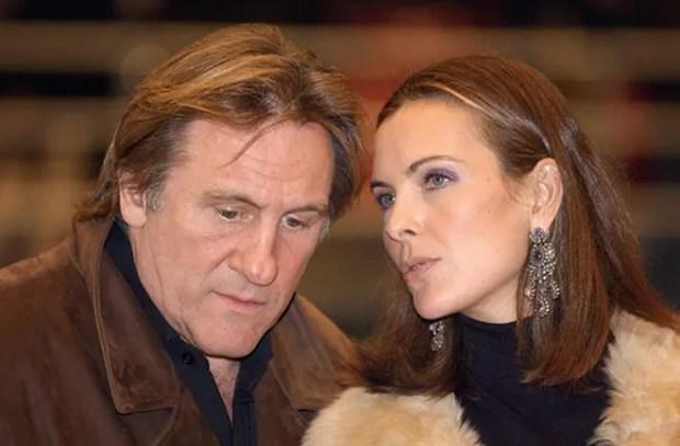 Жерар Депардье и Кароль Буке