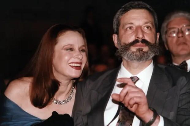 Любовь Полищук с мужем Сергеем