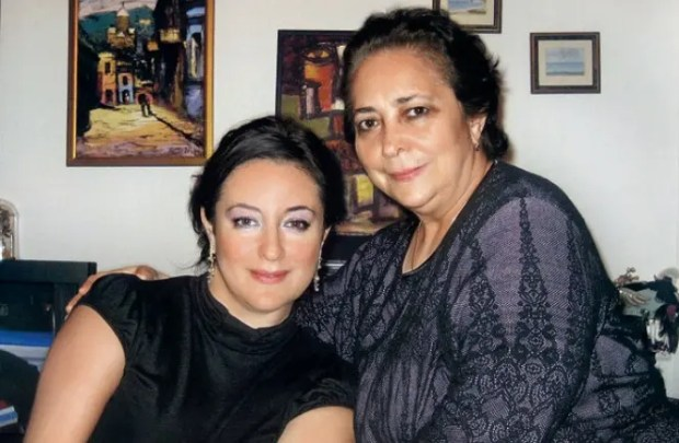 Тамара Гвердцители с мамой