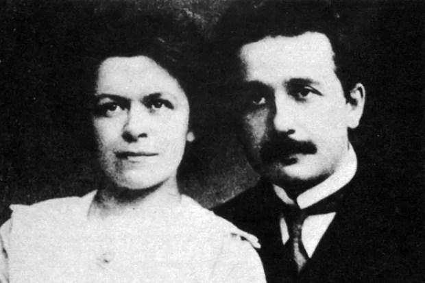 Альберт Эйнштейн и Милева Марич