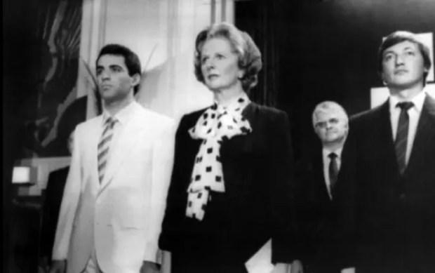 Гарри Каспаров, Маргарет Тэтчер и Анатолий Карпов. Лондон, 1986 год