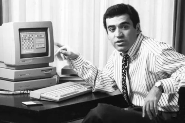 Гарри Каспаров в молодости