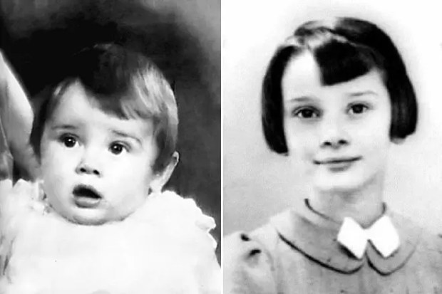 Одри Хепберн в детстве