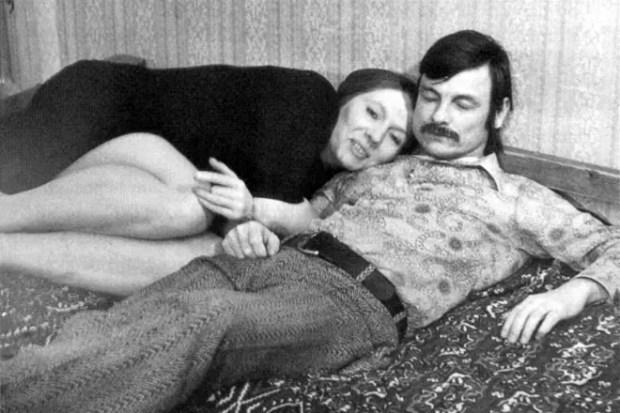 Андрей Тарковский с женой