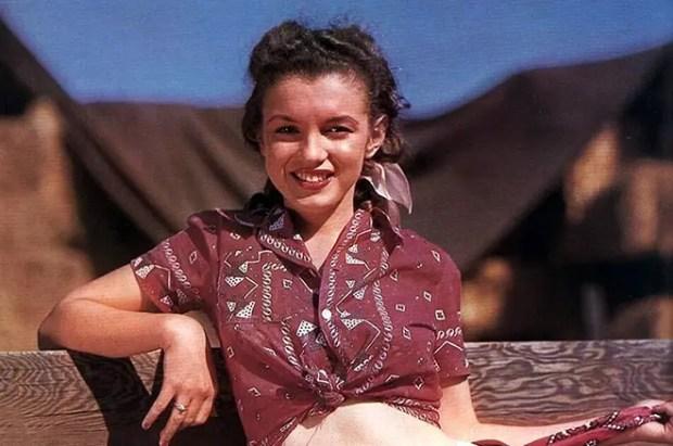 Мэрилин Монро в юности