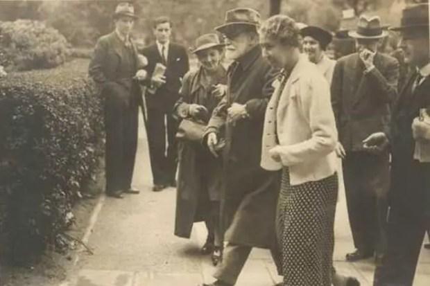 Прибытие Зигмунда Фрейда в Лондон, 1938 год