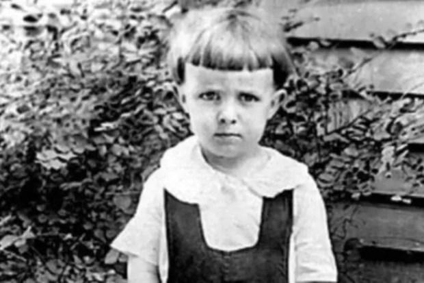 Рэй Брэдбери в детстве