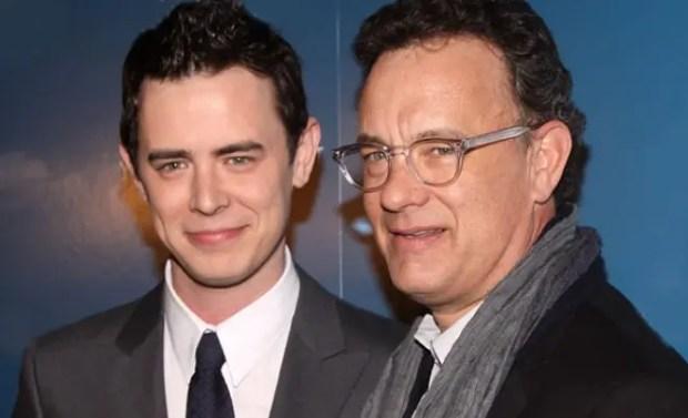 Том Хэнкс с сыном Колином