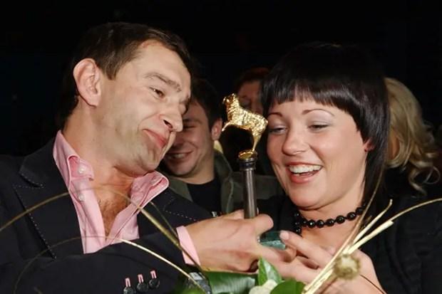 Константин Хабенский с первой женой Анастасией Смирновой