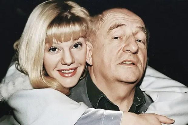 Марк Захаров с дочерью Александрой