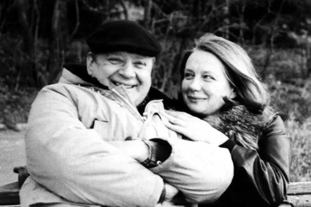 Юрий Визбор и его жена Нина Тихонова