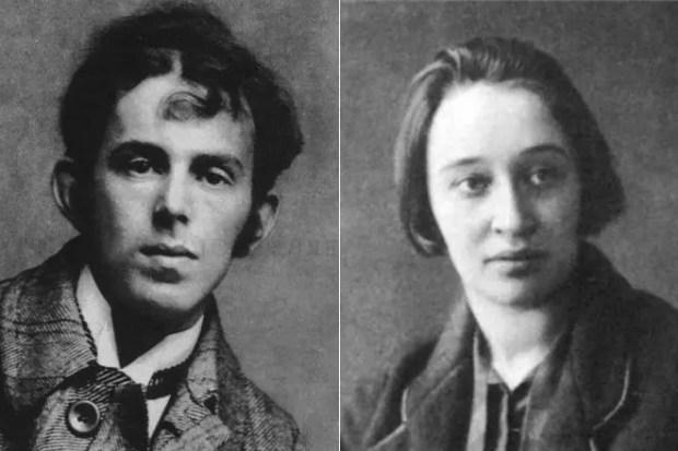 Осип Мандельштам и Надежда Хазина (Мандельштам)