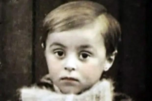 Лучано Паваротти в детстве