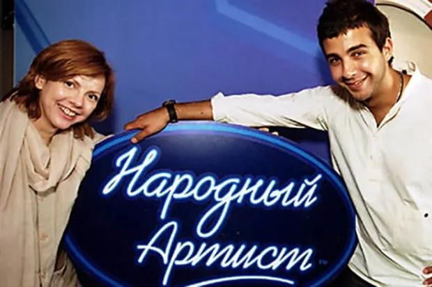 Иван Ургант и Фекла Толстая в передаче «Народный артист»