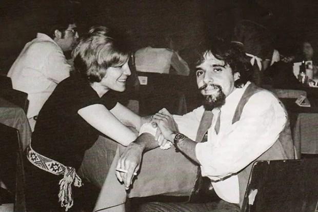 Пауло Коэльо с первой женой Верой