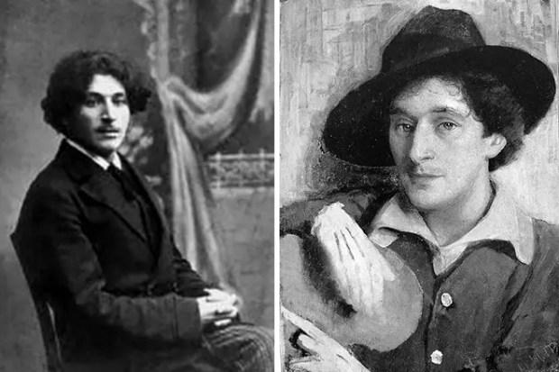 Марк Шагал в молодости