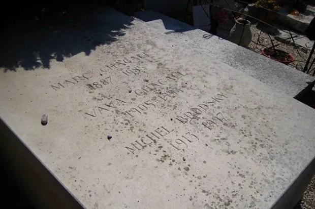 Могила Марка Шагала