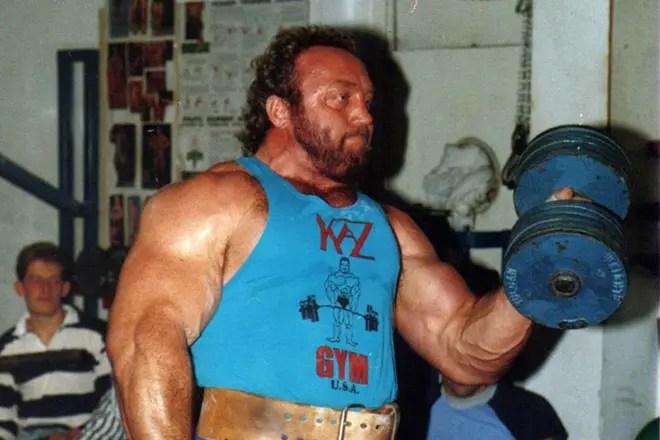 The strongest guy in the world  Records of Dmitry Khaladzhi