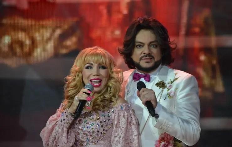 Маша Распутина с Филиппом Киркоровым