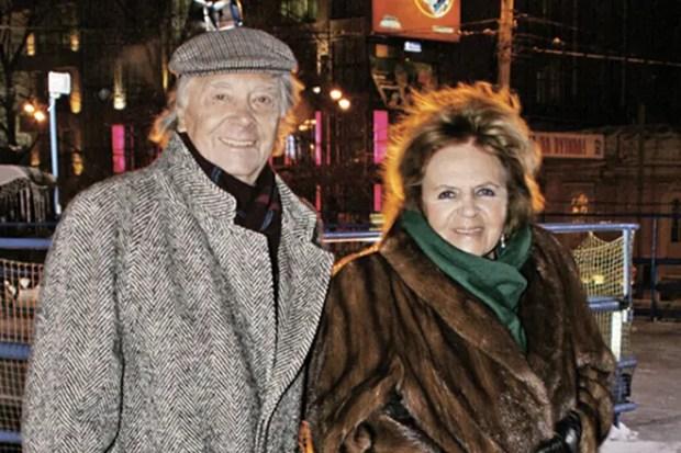 Анатолий Кузнецов с женой
