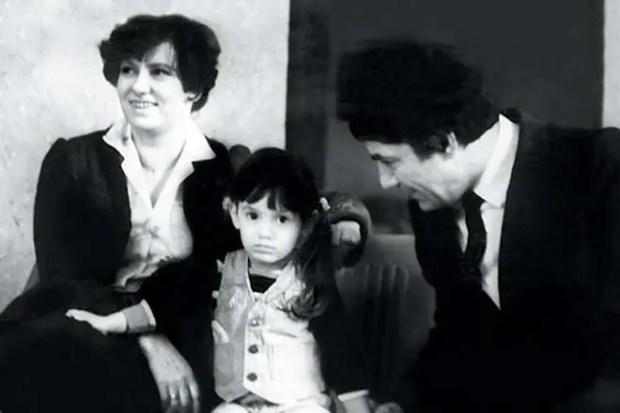 Спартак Мишулин с семьей