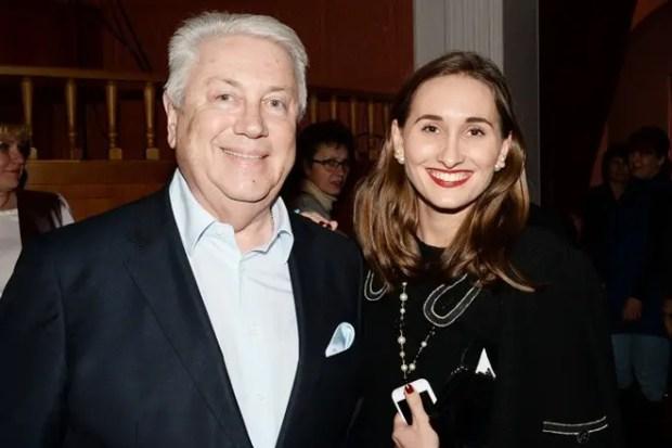 Владимир Винокур с дочерью Анастасией