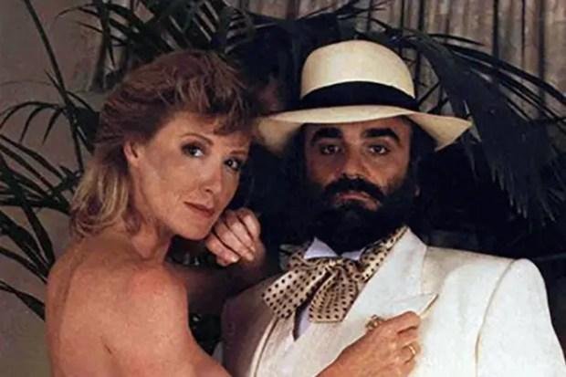 Демис Руссос и третья жена Памела