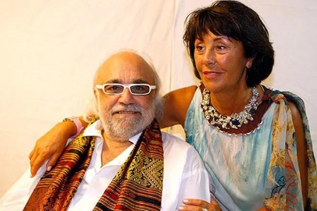 Демис Руссос и Мария-Тереза