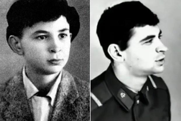 Илья Олейников в детстве и юности