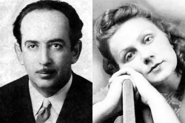 Александр Галич и Валентина Архангельская