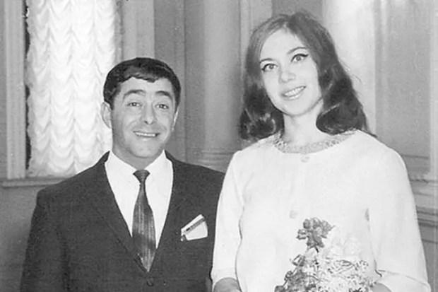 Роман Карцев и Виктория Кассинская в день свадьбы