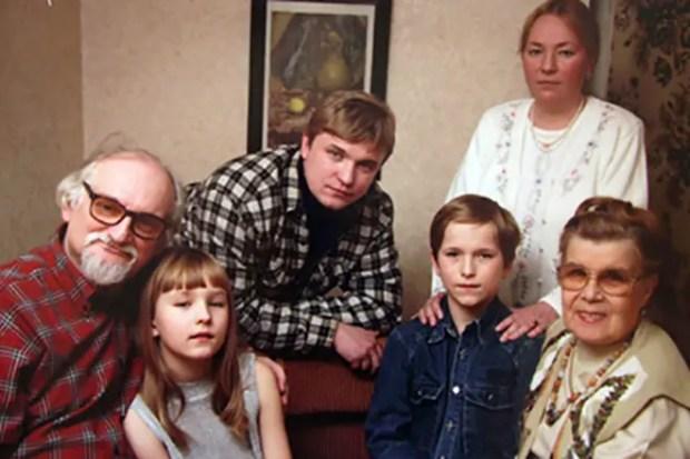 Геннадий Гладков и его семья