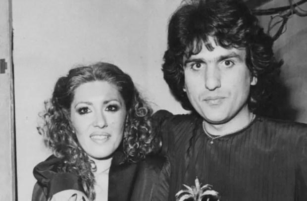 Тото Кутуньо и его жена Карла