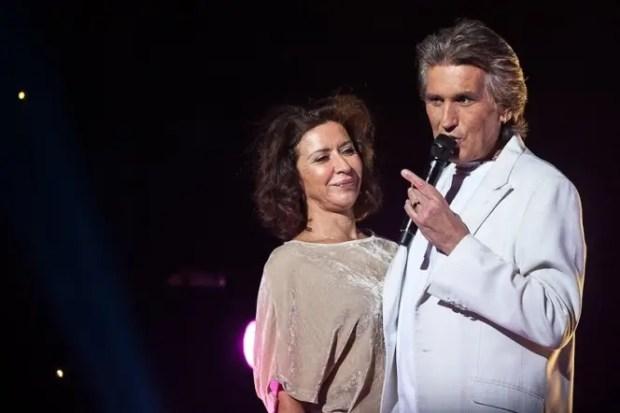 Тото Кутуньо с женой