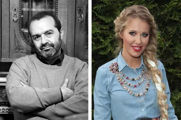 Виктор Шендерович и Ксения Собчак