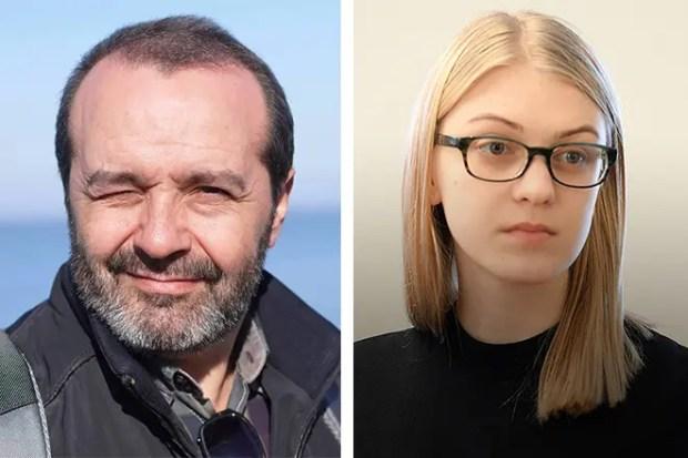 Виктор Шендерович и Леся Рябцева
