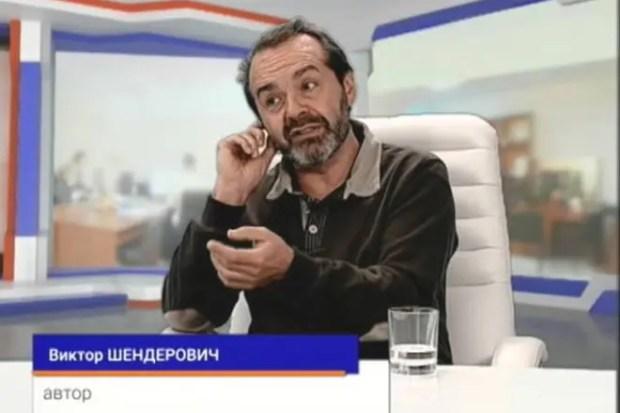 Виктор Шендерович на телевидении
